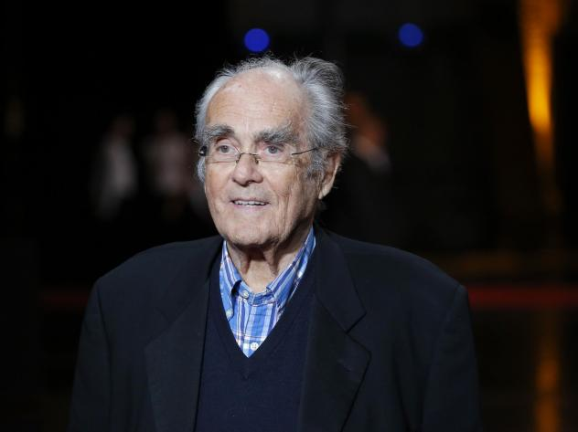 French composer Michel Legrand arrives at the opening ceremony of the 6th Lumiere Festival in 2014. Legrand died Saturday.