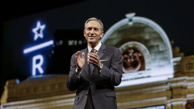 Potential candidate Howard Schultz said he wants nothing more than for President Trump to be defeated, but he fears Democrats will nominate someone too far to the left.