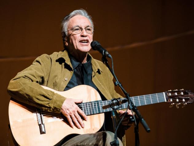 Brazilian musician Caetano Veloso has a long history of speaking truth to power though his music.