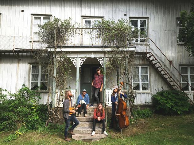 The old house where Daniel Norgren and friends recorded <em>Wooh Dang, </em>the Swedish musicians first international release.