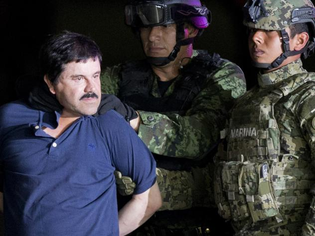 """Joaquín """"El Chapo"""" Guzmán was extradited to the U.S. in 2017 after two successful escapes from Mexican prisons. On Thursday, the Justice Department announced two of his sons have been indicted on a drug conspiracy charge. Both brothers are believed to"""