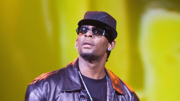 Singer R. Kelly was indicted on 10 counts of aggravated criminal sexual abuse on Feb. 22. In this photo, he performs in Atlantic City, N.J., on April 9, 2006.