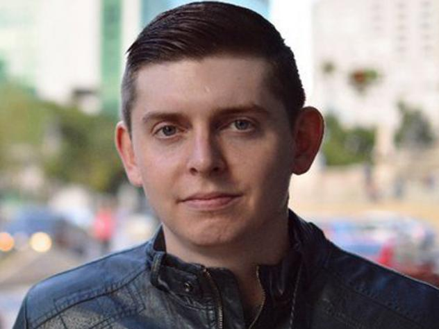 This 2018 photo released by Florida-based WPLG TV shows U.S. journalist Cody Weddle in Caracas, Venezuela. Weddle was seized by security forces at his apartment early Wednesday, according to lawyers and press freedom groups.