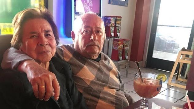 María de Jesús Caro Villa, 82, and Albano Villa, 83, are being cared for by their granddaughter, Nitzia Chama. The AARP says 1 in 4 family caregivers is a millennial.