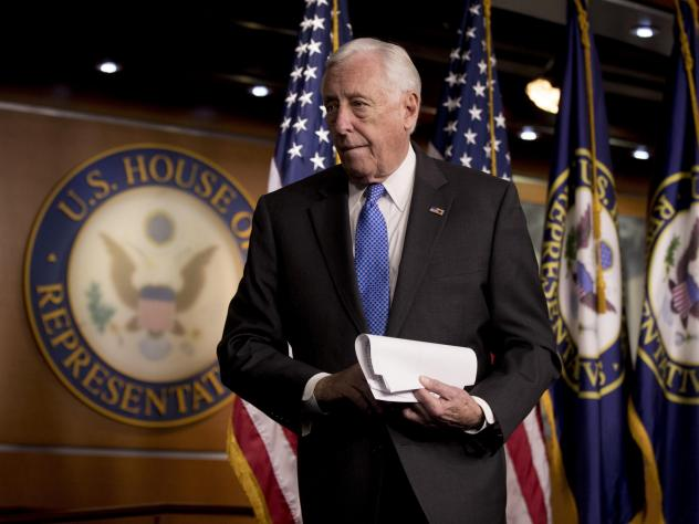 House Majority Leader Steny Hoyer supports raising member and staff pay, as well as reviving earmarks.
