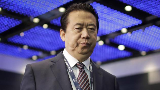Meng Hongwei was the president of Interpol when he was reported missing while on a trip to China last fall. He's now facing prosecution on bribery charges, China's Communist Party says.
