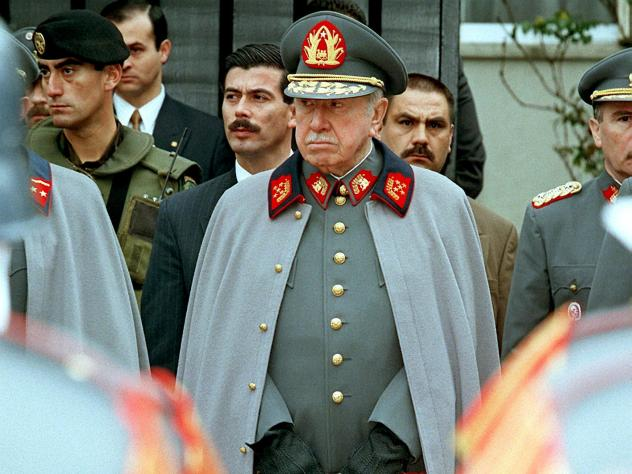 General Augusto Pinochet took power in Chile following the 1973 coup, and appointed the Chicago Boys to preside over economic affairs.