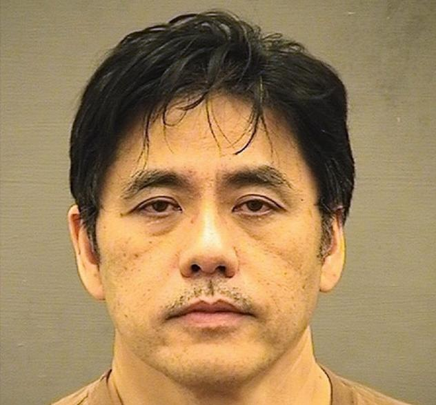 Former CIA officer Jerry Chun Shing Lee, 54, in this undated photo was provided by the Sheriff's Office in Alexandria, Va.