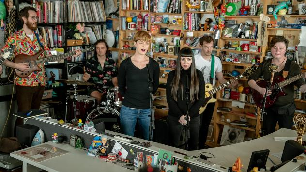Thou performs a Tiny Desk Concert on April 9, 2019 (Amr Alfiky/NPR).