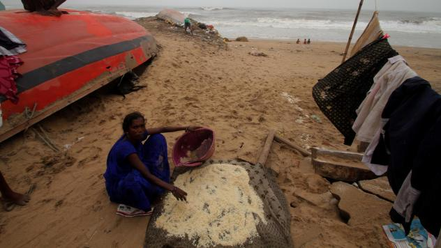 Cyclone Fani forced the evacuation of millions of people in Southeast Asia, including in India's Odisha state. The storm left hundreds of homes destroyed.