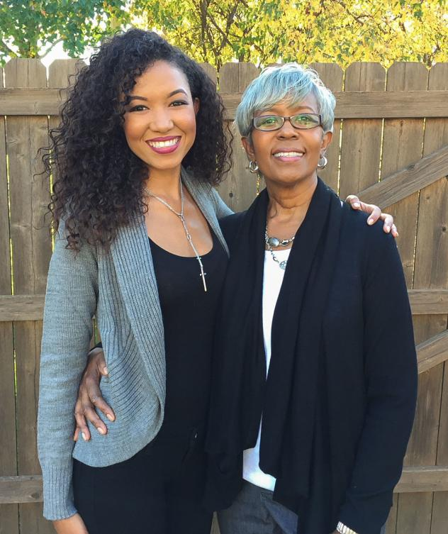 Sada Jackson (left), with her mother Ileana Watson in October 2014, when Ileana and her three children participated in a family Breast Cancer Walk together.