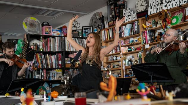 Magos Herrera and Brooklyn Rider perform a Tiny Desk Concert on March 6, 2019.