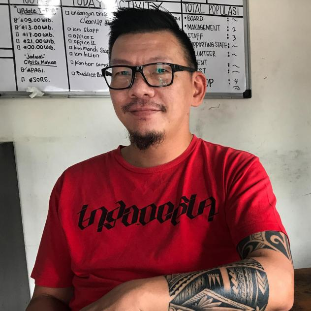 Sam Nugraha, who was himself a heroin addict, now runs a rehab center in Indonesia with a different kind of philosophy than abstinence-based programs.