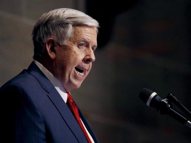 Missouri's Republican governor, Mike Parson, has been supportive of restricting abortions in the state.
