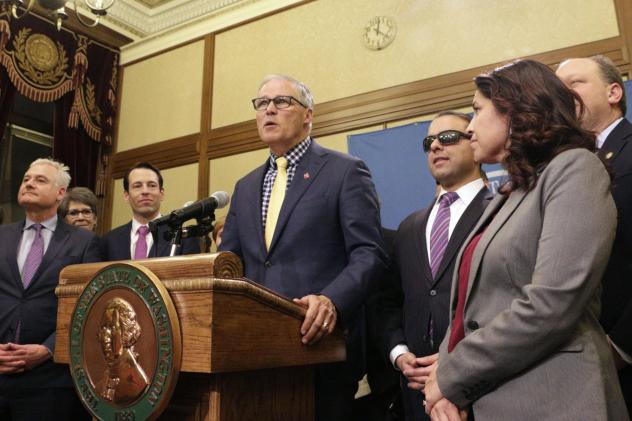 Washington Gov. Jay Inslee recently signed legislation making Washington the first state to enter the private health insurance market with a universally available public option.