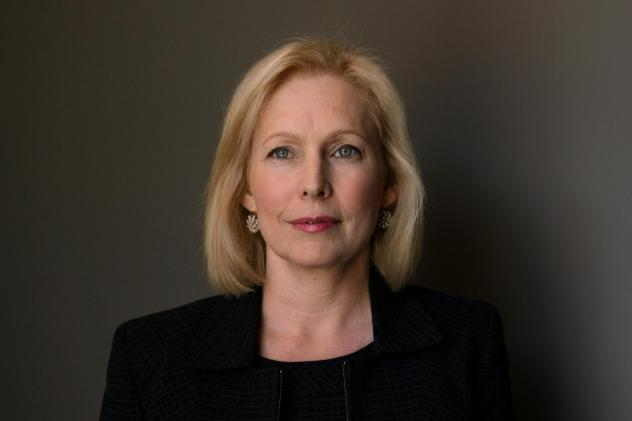 Sen. Kirsten Gillibrand, D-N.Y., says if she becomes president she would only appoint judges and justices who would maintain <em>Roe v. Wade.</em>