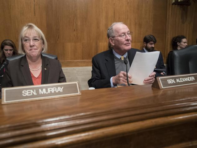 Sen. Patty Murray, D-Wash., the ranking member, and Sen. Lamar Alexander, R-Tenn., chairman of the Senate health committee, introduced legislation to address health care issues such as surprise medical bills and high drug costs.