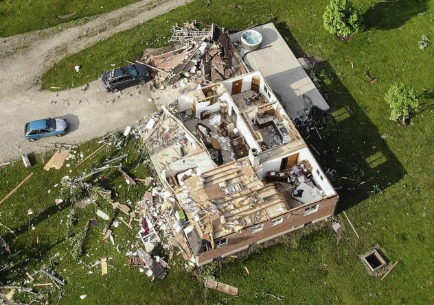 Several tornadoes touched down in highly populated areas in and around Dayton, Ohio.