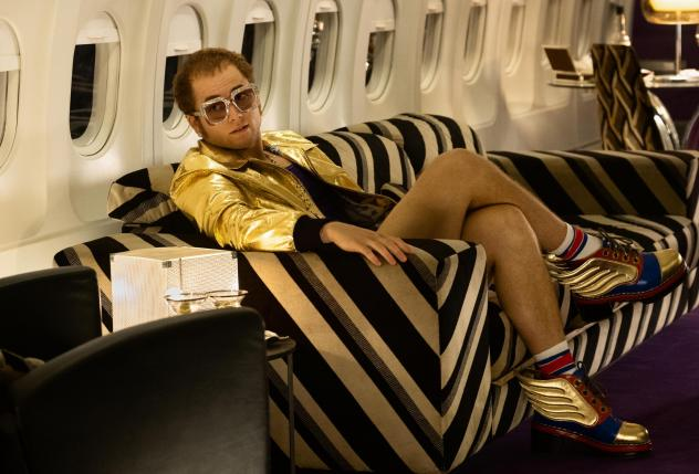 Operatic excesses are balanced by a powerful sense of melancholy in the biographical musical <em>Rocketman, </em>starring Taron Egerton as Elton John.