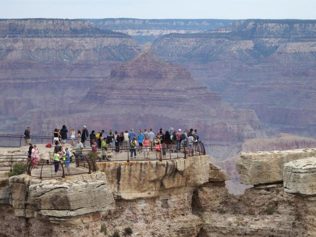 Grand Canyon officials don't keep track of visitors by country of residence, but Mandarin-language brochures are the most in demand there. The Arizona Office of Tourism estimates that in 2018, the number of Chinese visitors to the state dipped 3.7%, afte