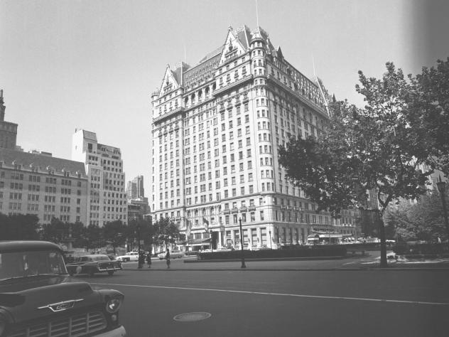 A file photo of The Plaza Hotel.
