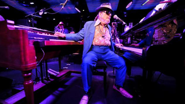 Dr. John performs in London in 2012.