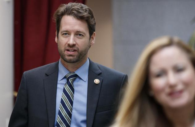 Rep. Joe Cunningham, D-S.C., pictured in January, opposes a plan to increase lawmakers' salaries, saying that's not what his constituents sent him to Washington to do.