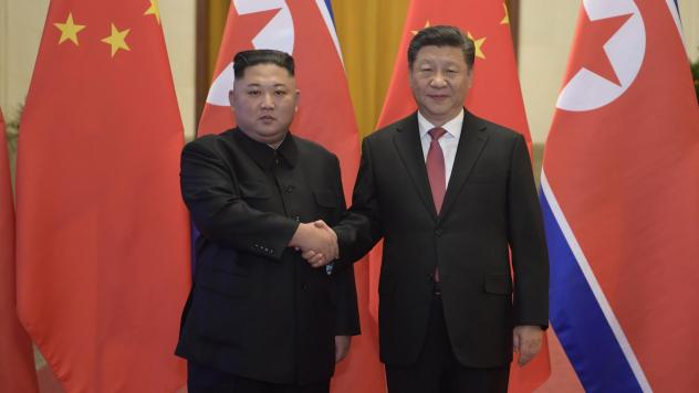 North Korean leader Kim Jong Un and Chinese President Xi Jinping meet in Beijing in January. The two leaders plan to meet this week in North Korea, according to state news agencies of both countries.