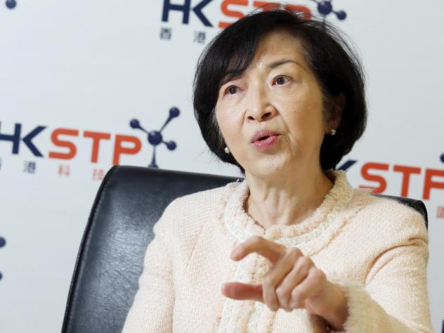 Fanny Law, seen in a 2017 interview with <em>The South China Morning Post</em>, is a member of Hong Kong's Executive Council. She apologized on Wednesday for underestimating the backlash to a controversial now-withdrawn extradition bill.
