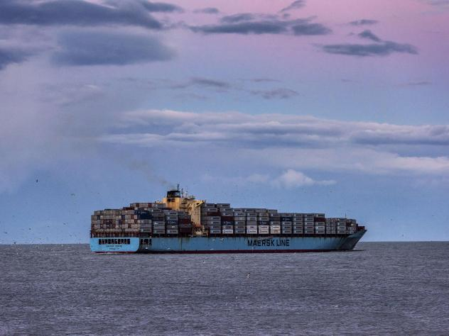 Container ships and other maritime vessels currently run on pollutant-intensive heavy fuel oil. The world's largest container-shipping company, Maersk, has promised to make its operations zero carbon by 2050. Doing so will require using new fuels such as