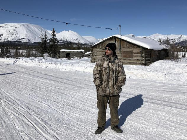 """David Smith Jr. is the second tribal chief of Arctic Village, and continues to fight drilling in the national refuge despite Congress's legalization of it. """"I believe everything is going to come out on top for us,"""" he says."""