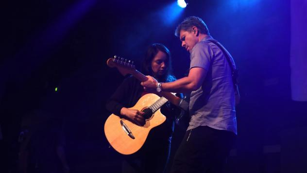 Rodrigo y Gabriela perform live at Public Radio's NON-COMMvention at World Cafe Live in Philadelphia, PA.