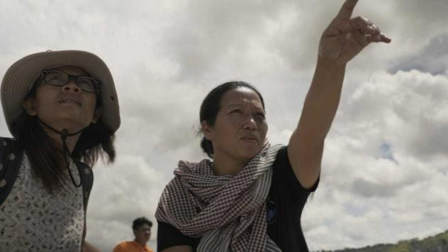 Patima Tungpuchayakul (right), a Thai abolitionist, with members of her team on a trip to free enslaved fishermen.