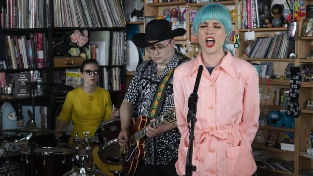 Priests performs a Tiny Desk Concert on June 7, 2019.