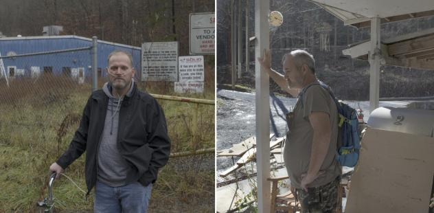 On Tuesday, coal miners Danny Smith (left) and Greg Kelly are expected on Capitol Hill, where they'll ask lawmakers to fully restore a tax that pays for medical care for miners diagnosed with black lung. Both have the worst stage of the disease after yea