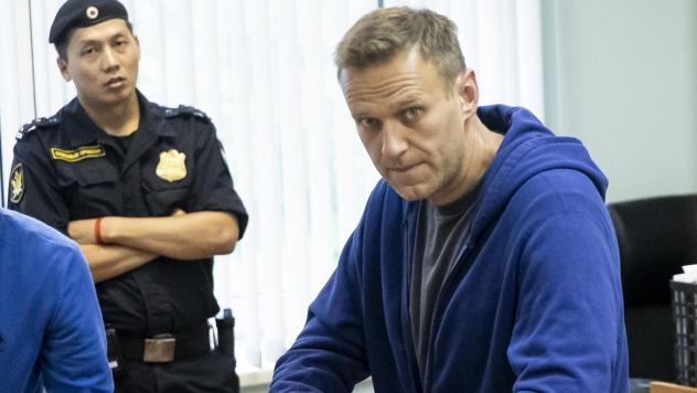 Alexei Navalny, one of Russia's most prominent opposition figures, appears in a Moscow courtroom on July 24. A longtime critic of President Vladimir Putin, he was recently arrested after calling for a mass protest against the exclusion of opposition cand