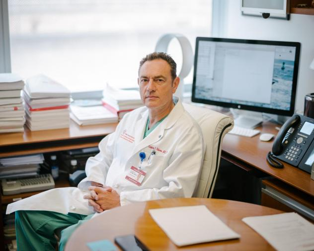 Gianpiero Palermo, a professor of embryology at Weill Cornell Medicine, runs the lab where scientists are trying to use CRISPR to edit genes in human sperm.