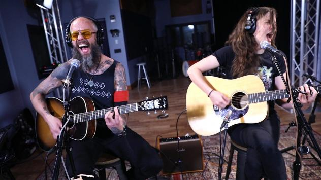 Baroness performing during a Key Studio Session at WXPN Studios in Philadelphia, PA.