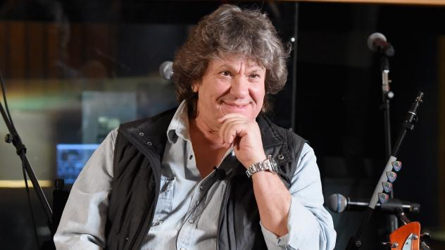 Michael Lang – who helped organize the original Woodstock in 1969 and was working on this year's 50th anniversary event – photographed announcing the Woodstock 50 lineup at Electric Lady Studio on March 19, 2019 in New York.
