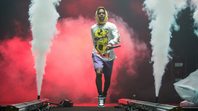 A$AP Rocky performs at Le Zenith on June 27, 2019 in Paris. The rapper was taken into custody in Stockholm five days later.