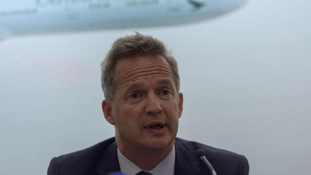 Cathay Pacific Airways CEO Rupert Hogg's resignation comes after Beijing exerted pressure on the carrier.