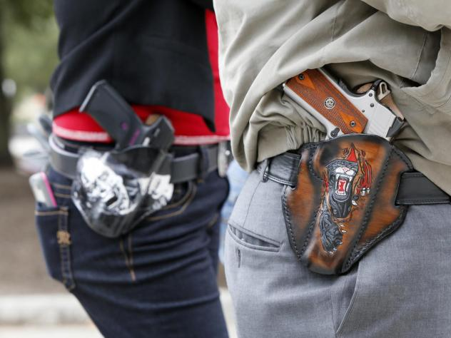 A new survey finds that a majority of Americans, including gun owners, support laws that allow family members or law enforcement to request temporary removal of guns from a person who is seen to be a risk to themselves or others.