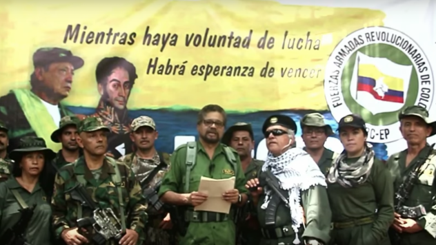 Colombia's FARC Rebels, in a YouTube video posted Thursday, have accused the government of betrayal and announced that they will take up arms again, breaking a 2016 peace accord.