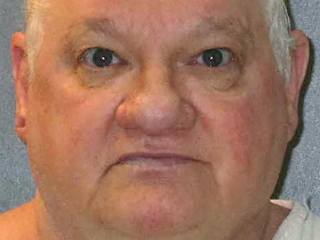 An undated Texas Department of Criminal Justice photo shows death row inmate Billy Jack Crutsinger. He was executed for fatally stabbing an 89-year-old woman and her daughter more than 16 years ago.