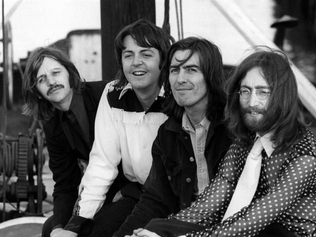The band, photographed in 1969. The photo is just one of the images included in the upcoming 50th anniversary edition of <em>Abbey Road.</em>