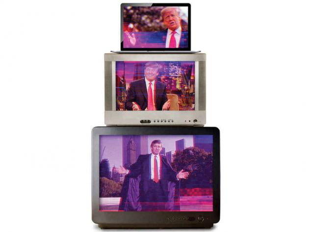 <em>Audience of One: Donald Trump, Television, and the Fracturing of America,</em> by James Poniewozik