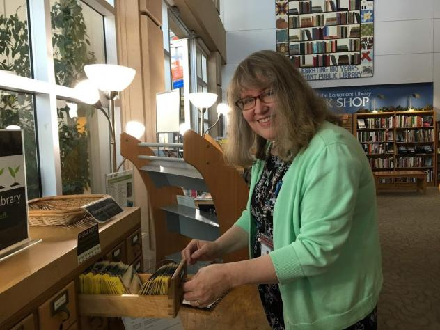 Longmont, Colo., library director Nancy Kerr says libraries are always looking at new opportunities to connect people with information.