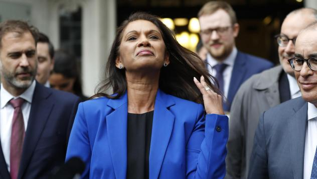 Anti-Brexit campaigner Gina Miller won her case against Prime Minister Boris Johnson, one of two actions that targeted his advice to the queen to prorogue Parliament. Miller is seen here outside the Supreme Court in London after the ruling was announced.