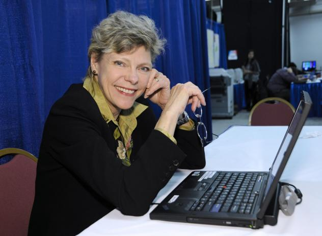 Cokie Roberts covers the 2012 presidential race in Manchester, N.H. The longtime political reporter and analyst at ABC News and NPR died on Sept. 17 at the age of 75.