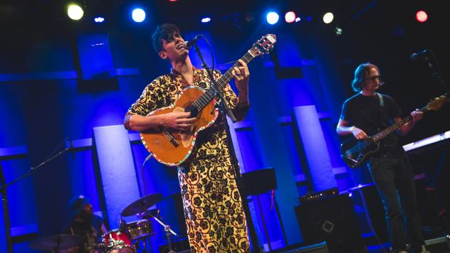 Tall Juan performs live at Nuevofest 2019 at World Cafe Live in Philadelphia.
